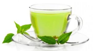 droogtrainen groene thee