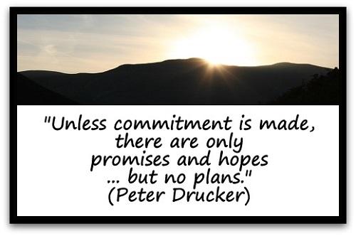 fitness doel zachte commitment
