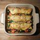 Egg Wraps met Spinazie, Cherrytomaatjes & Parmazaanse kaas