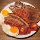 Full English Breakfast als avondmaal